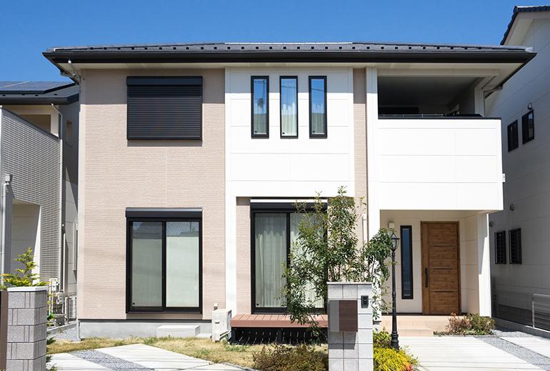 外壁の美しさを保ちます! 外壁フッ素樹脂プラン